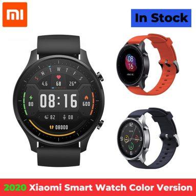 89 € mit Gutschein für Xiaomi Mi 1.39 Zoll AMOLED Bildschirmuhr Color Smart Watch von TOMTOP
