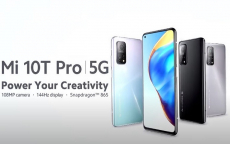 €409 with coupon for Xiaomi Mi 10T Pro Snapdragon 865 8GB+128GB 6.67 inch FHD+ DotDisplay 108MP AI Camera Smartphone from EU warehouse EDWAYBUY (only for IT, DE, ES, PT select your language)