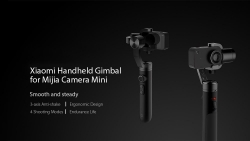 €93 with coupon for (Official International Version) Xiaomi Mi 3-axis Action Camera Handheld Gimbal from GEARVITA