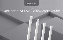 $ 16 com cupom para Xiaomi Mi 4A Roteador Dual Band AC 1200M 16MB ROM 64MB RAM de GEARVITA
