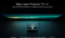 1369 € sa kuponom za Xiaomi Mi 4K UHD laserski projektor 150in 16GB eMMC 5G WiFi Dolby DTS Android TV 9.0 ALPD 3.0 1300lm Laser Smart TV Globalna verzija iz EU ES skladišta BANGGOOD
