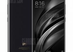 $419 flashsale for Xiaomi Mi 6 4G Smartphone  –  CERAMIC VERSION 6GB RAM 128GB ROM  BLACK EU warehouse from GearBest