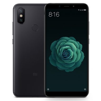 $229 with coupon for Xiaomi Mi 6X 4GB RAM 64GB ROM Smartphone from BANGGOOD