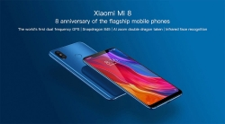 €315 with coupon for Xiaomi Mi8 Mi 8 Global Version 6GB RAM 64GB ROM Smartphone from BANGGOOD