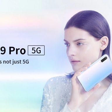 € 722 s kupónem pro Xiaomi Mi 9 Pro 5G 5G Phablet 6.39 palec MIUI 11 Snapdragon 855 Plus Octa Core 12GB RAM 512GB ROM 3 Baterie - bílá od GEARBEST
