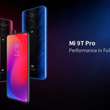 €337 with coupon for Xiaomi Mi 9T Pro 4G Phablet 6GB RAM 128GB ROM Global Version – Blue from GEARBEST