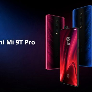 €321 with coupon for Xiaomi Mi 9T Pro Global Version 6.39 inch 48MP Triple Camera NFC 4000mAh 6GB 128GB Snapdragon 855 Octa core 4G Smartphone BLACK from BANGGOOD