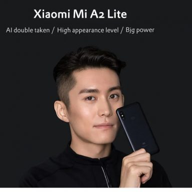 €164 with coupon for Xiaomi Mi A2 Lite 4G Phablet 4GB RAM 64GB ROM Global Edition – GOLD from GearBest