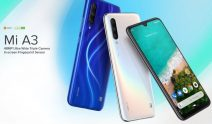 €195 with coupon for Xiaomi Mi A3 4G Phablet 4GB RAM 128GB ROM Global Version – Blue from GEARBEST