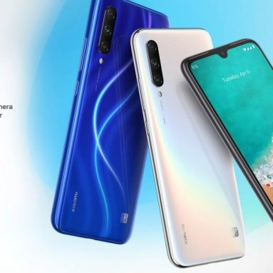 €158 with coupon for Xiaomi Mi A3 4G Phablet 4GB RAM 64GB ROM Global Version – Blue from GEARBEST