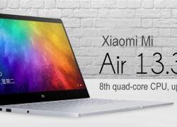 € 699 avec coupon pour Capteur d'empreinte digitale pour ordinateur portable pouce 2019 13.3 Xiaomi Mi Air - Gris de GEARBEST