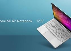 569 avec coupon pour ordinateur portable Xiaomi Mi Air RAM 4GB 128GB SSD 12.5 pouces Windows 10 Home Intel Core m3 - 8100Y de GEARBEST