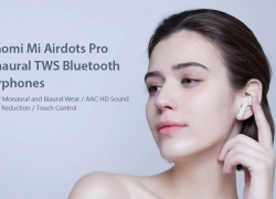 $63 with coupon for Xiaomi Mi Airdots Pro TWS Bluetooth Wireless Earphones from GEARVITA