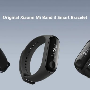 $23 with coupon for Xiaomi Mi Band 3 Smart Bracelet Wristband – BLACK INTERNATIONAL VERSION from GearBest
