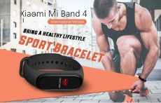 € 27 con coupon per Xiaomi Mi banda 4 AMOLED Schermo a colori Wristband bluetooth 5.0 5ATM Long Standby Smart Watch Versione internazionale da BANGGOOD