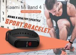 € 29 avec coupon pour bande Xiaomi Mi 4 AMOLED Bracelet pour écran couleur bluetooth 5.0 5ATM Version longue veille de la montre intelligente en version internationale de BANGGOOD