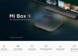 $79 with coupon for Xiaomi Mi Box S with 4K HDR Android TV Streaming Media Player Google Assistant Remote Official International Version – BLACK EU PLUG from GearBest