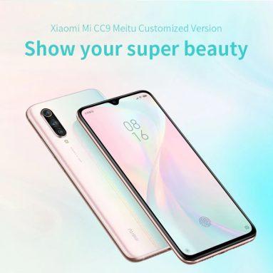 € 412 avec coupon pour Xiaomi Mi CC9 Smartphone MeNn XXXG Meitu édition personnalisée RAM 4GB ROM Version chinoise et anglaise de GEARVITA