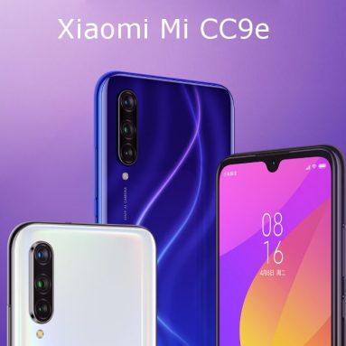 213 s kupónom pre Xiaomi MI A3 Xiaomi Mi CC9e 4G Smartphone 4GB RAM 64GB ROM Global Version from GEARVITA