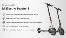 439 € με κουπόνι για Xiaomi Mi Electric Scooter 3 Smart E-Scooter από αποθήκη της ΕΕ GSHOPPER