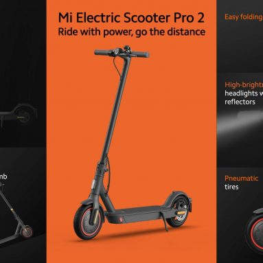 €468 with coupon for Xiaomi Mi Foldable Electric Scooter Pro 2 from EU PL warehouse GEEKBUYING