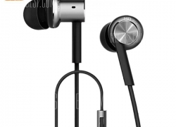 $13 with coupon for Original Xiaomi Mi IV Hybrid Dual Drivers Earphones  –  SILVER from GearBest
