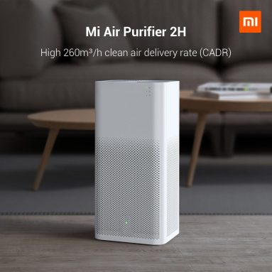 114 € avec coupon pour [Version internationale] Xiaomi Mi Mijia Purificateur d'air 2H Assistant Google Amazon Alexa Mi Home APP Control 260 m3 / h Particules CADR EU CZ entrepôt de BANGGOOD
