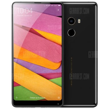 $669 with coupon for Xiaomi Mi Mix 2 256GB ROM 4G Phablet  –  BLACK from GearBest