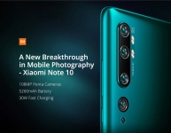 406 مع كوبون لـ Xiaomi Mi Note 10 (CC9 Pro) 108MP Penta Camera Phone النسخة العالمية - Green EU WAREHOUSE من GEARBEST