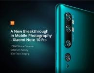 € 481 met kortingsbon voor Xiaomi Mi Note 10 Pro Wereldwijde versie 6.47 inch 3D Curved AMOLED 108MP Penta Camera 30W Snel opladen 8GB 256GB 4G Smartphone - Midnight Black van BANGGOOD
