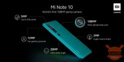 € 399 con coupon per Xiaomi Mi Note 10 (CC9 Pro) 108MP Penta Camera Phone Versione globale - Nero (promo MI BAND 4 € 9) da GEARBEST