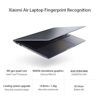 €743 with coupon for Xiaomi Mi Notebook Air Intel Core i5-8250U NVIDIA GeForce MX150 – DARK GRAY from GearBest