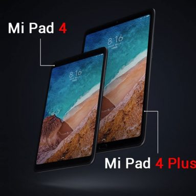 $ 269 con coupon per Xiaomi Mi Pad 4 Plus 4G LTE Tablet 4GB RAM 64GB ROM International Version from GEARVITA