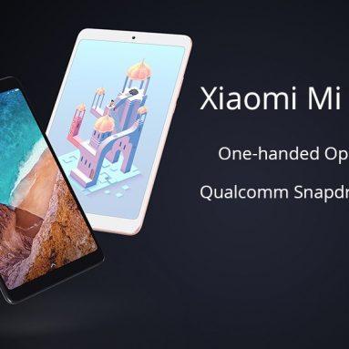 Xiaomi एमआई पैड 195 वाईफाई टैबलेट पीसी के लिए कूपन के साथ € 4 GeUbu 9 3GB DDR4 32GB eMMC Geekbuying से ब्लैक