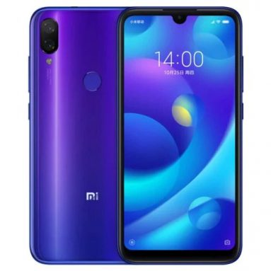€107 with coupon for Xiaomi Mi Play 4G Phablet Global Version 4GB RAM 64GB ROM – BLACK from GearBest