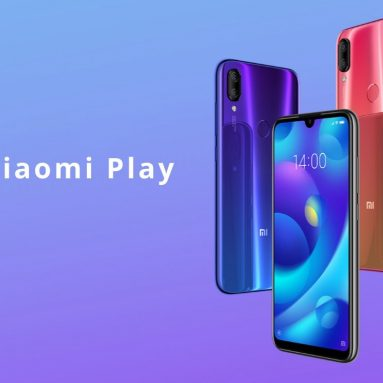 €112 with coupon for Xiaomi Mi Play 4G Smartphone 4GB RAM 64GB ROM Global Version from GEARVITA