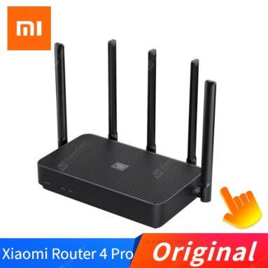 GEARBEST से Xiaomi Mi Router 43 Pro गिगाबिट डुअल-बैंड के लिए कूपन के साथ $ 4