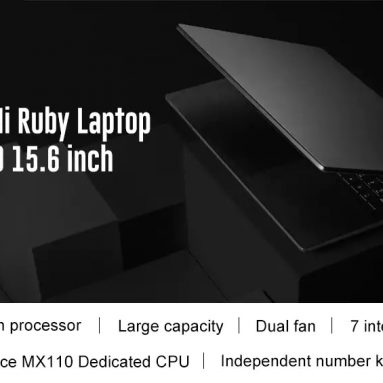€710 with coupon for Xiaomi Mi Ruby 2019 Laptop Notebook from GEARBEST