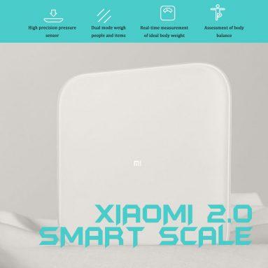 20 € mit Gutschein für Xiaomi Mi Smart Scale 2 BT5.0 Körperbalance-Test BMI Körperzusammensetzung Intelligente Analyse-Skala APP von EU CZ Warehouse BANGGOOD