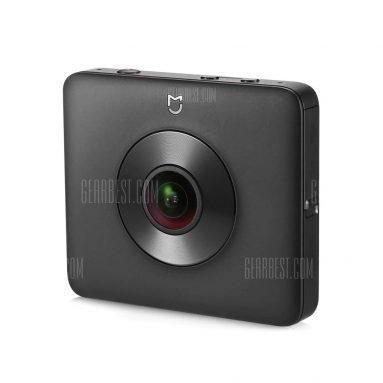 $ 255 flashsale für Xiaomi Mi Sphere Kamera 4K Panorama Action Kamera - DOMESTIC EDITION BLACK von Gearbest