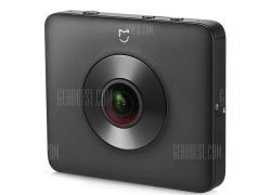$259 with coupon for Xiaomi Mi Sphere Camera 4K Panorama Action Camera  –  INTERNATIONAL EDITION  BLACK from Gearbest
