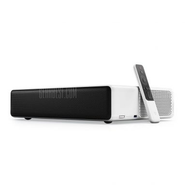 $1949 with coupon for Xiaomi Mi Ultra Short Throw 5000 Lumens Laser Projector – ENGLISH VERSION – WHITE EU PLUG from GEARBEST