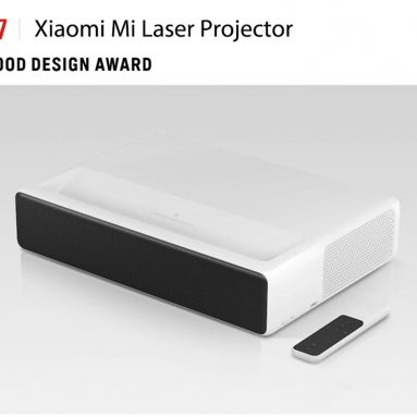 €1245 with coupon for Xiaomi Mi MIJIA Laser Projector 5000 Lumens Android 6.0 ALPD 3.0 4K 2GB 16GB bluetooth Prejector English Version EU CZ WAREHOUSE from BANGGOOD