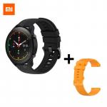 97 € med kupong för Xiaomi Mi Watch Blood Oxygen GPS SmartWatch Bluetooth Fitness Pulsmätare 5ATM Vattentät Mi Smart Watch Global Version - Svart och gult från GEARBEST