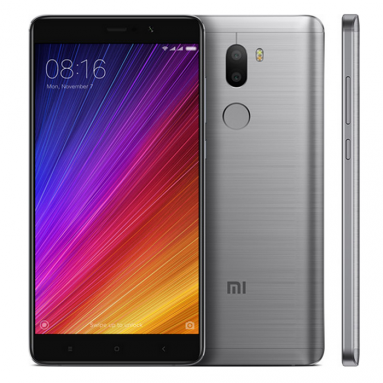 $318 with coupon for Xiaomi Mi5S Plus 4G Phablet 64GB ROM – INTERNATIONAL VERSION DEEP GRAY from GearBest