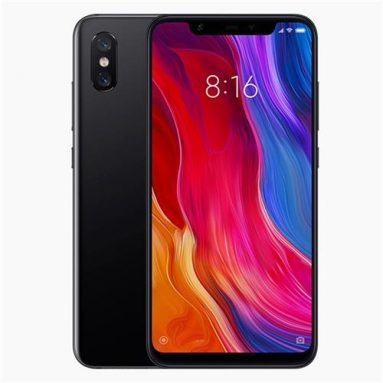 €279 with coupon for Xiaomi Mi8 Mi 8 Global Version 6GB RAM 128GB ROM smartphone EU WAREHOUSE from BANGGOOD