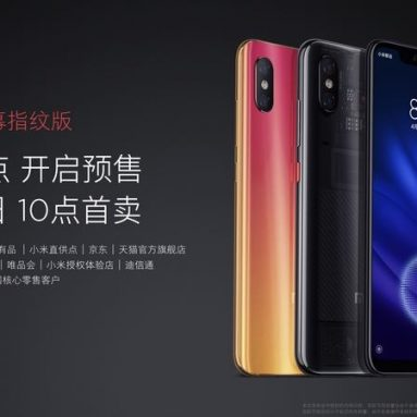 €394 with coupon for Xiaomi Mi8 Mi 8 Pro Global Version 6.21 inch 8GB RAM 128GB ROM 4G Smartphone from BANGGOOD