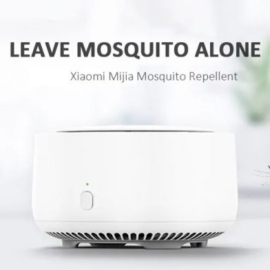 $15 with coupon for Xiaomi Mija Mosquito Repellent – WHITE from GearBest