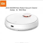 $ 309 com cupom para 2019 Novo Xiaomi Mijia 2 em 1 Aspirador de pó robótico para limpeza a seco LDS - Branco de GEARBEST