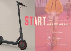 Xiaomi Mijia için kupon ile $ 559 2019 Elektrikli Scooter Pro AB Tak - GEARBEST gelen Siyah AB Tak